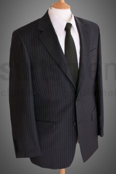 douglas pure wool pinstripe jacket 1 How to Measure yourself for a suit