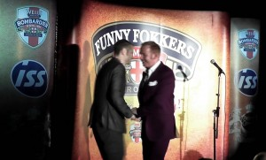 shawb tonks 300x181 Rupert The Tailors Purple Suit Hits The Stage with the Funny Fokkers!